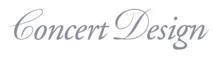 concert design logo