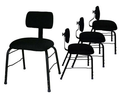 Allegro chairs with variations of back support