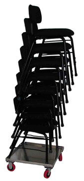 orchestra stacking chairs