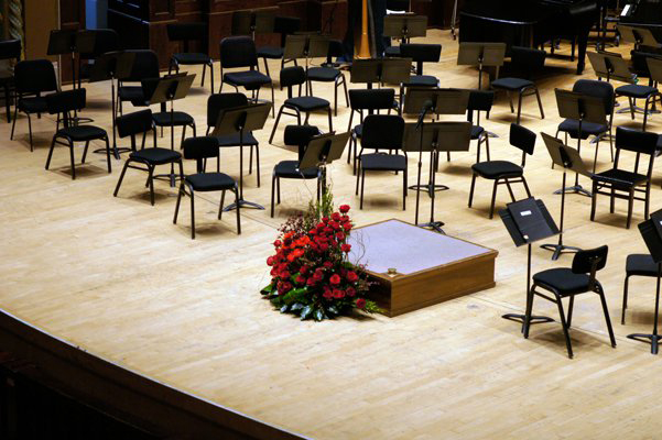 Allegro Chairs onstage at DSO