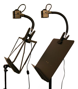 music stand lights